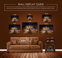 Wall guide for buyers.